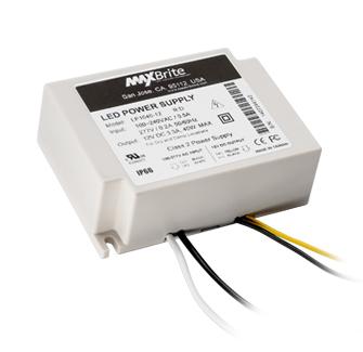 40 Watt LED Power Supply, 12V DC Output